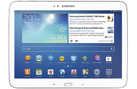 Samsung Galaxy TAB 3 Services in Perth