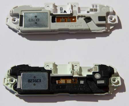Galaxy S4 I9507 Buzzer compared to the i9505