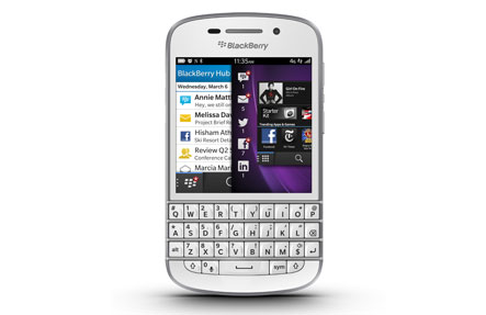 blackberry q10 services