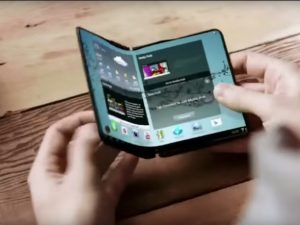 Samsung foldable smart phones