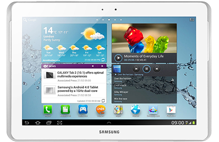 """Samsung Galaxy TAB 2 services including the 10.1"""""""